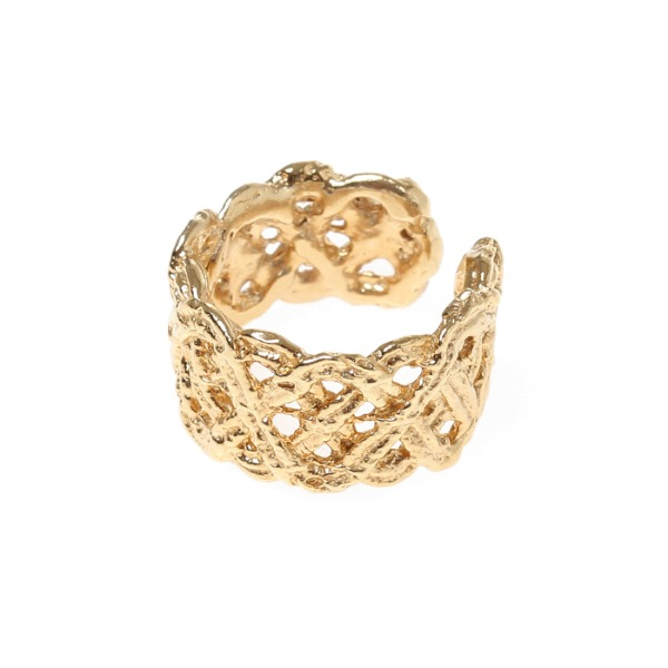 mzuu#[mzuu] 1930 Lace Open Ring_MX0XC0250 (골드)